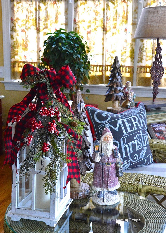 Sunroom for Christmas 2015 - Housepitality Designs