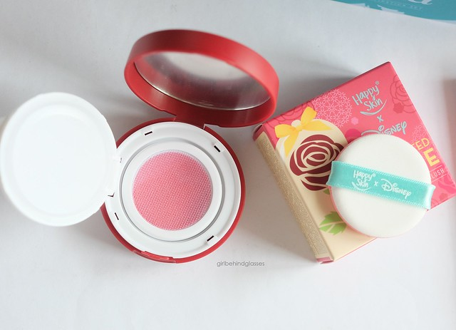 Happy Skin x Disney Princess Enchanted Rose Luminous Mesh Blush in Pink