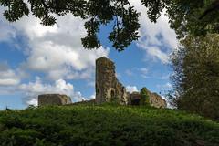 Pevensey Castle East Sussex UK