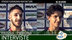 Virtus V.-Pievigina del 16-10-16