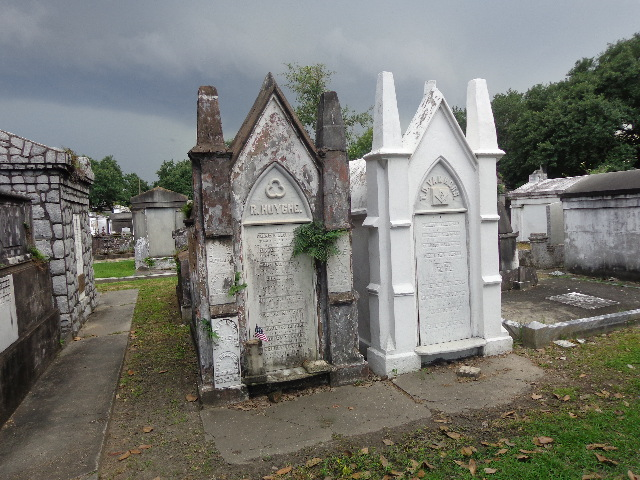 gothic revival tombs