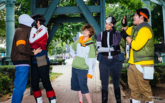 Lance, Keith, Pidge, Shiro & Hunk