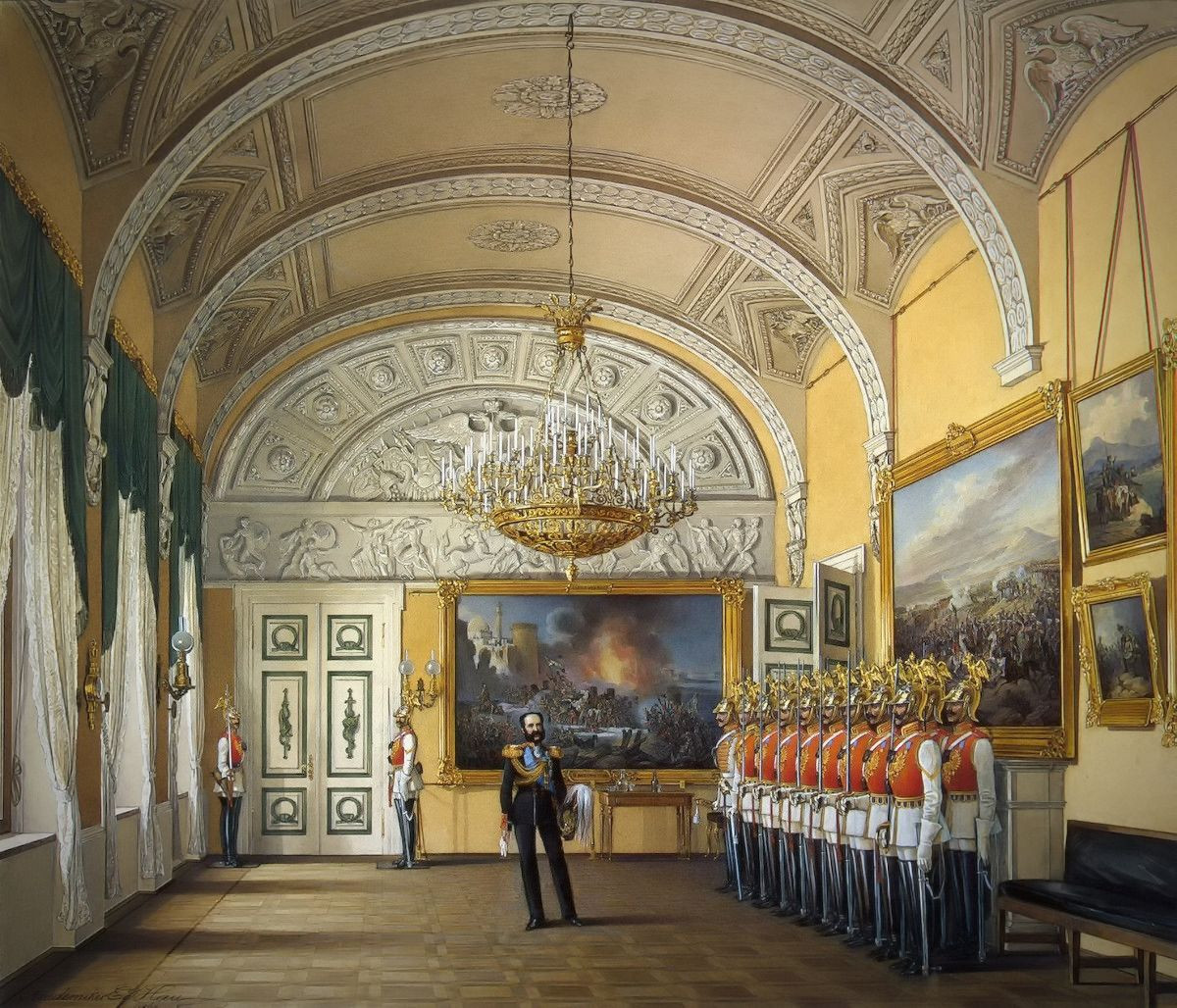 The Guardroom, 1863