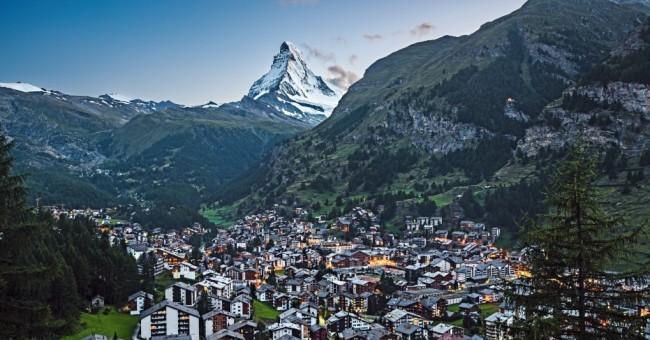 Švýcarská příroda na festivalu Sedm divů