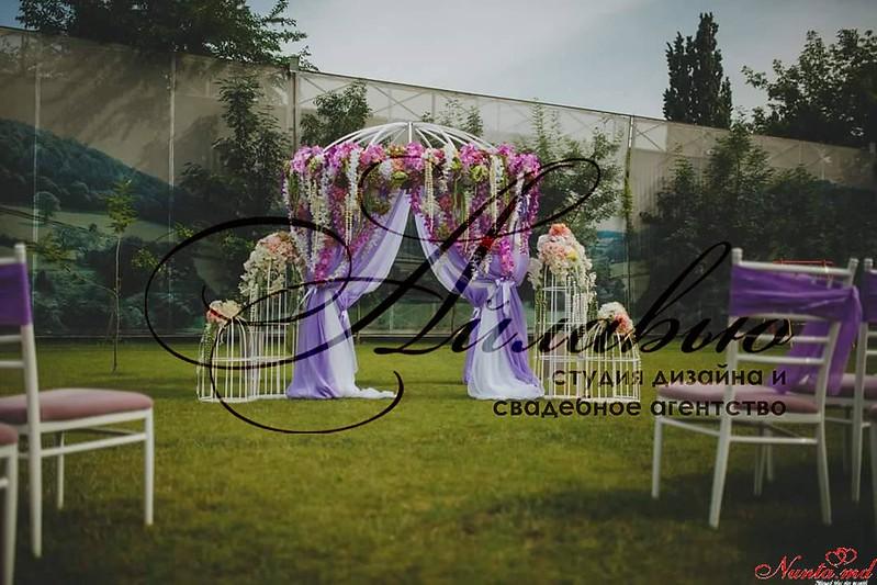 Букет невесты > Фиолетовый — цвет изысканности и роскоши.