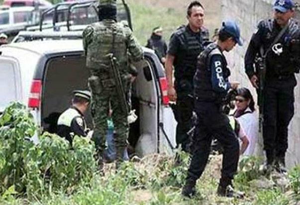 Hallan los cuerpos de siete personas en Puebla