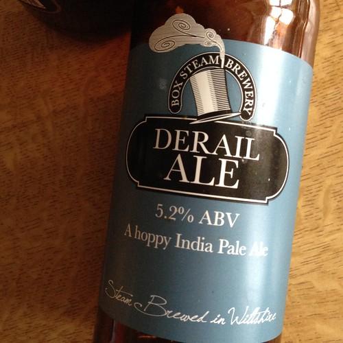 Box Stream Brewery. Derail Ale, India Pale Ale, 5.2%
