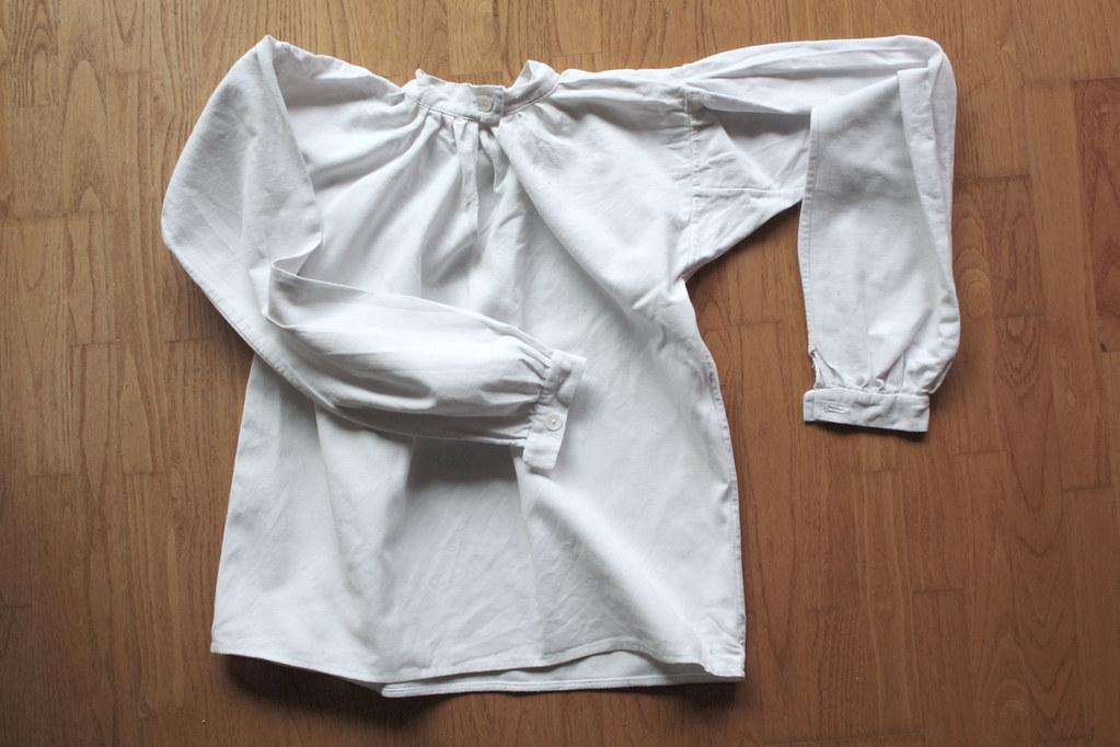 Chemise de petit garçon en lin