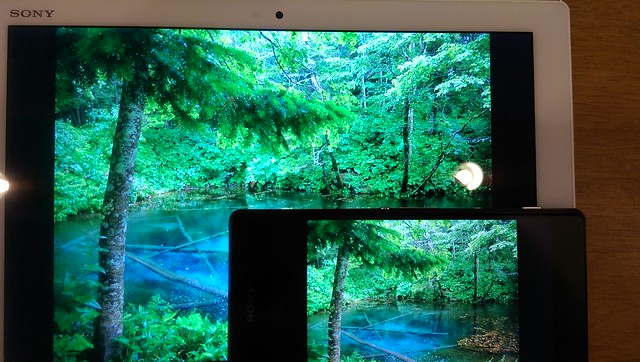 Xperia Z4 Tablet vs Xperia Z2 写真閲覧 (02)