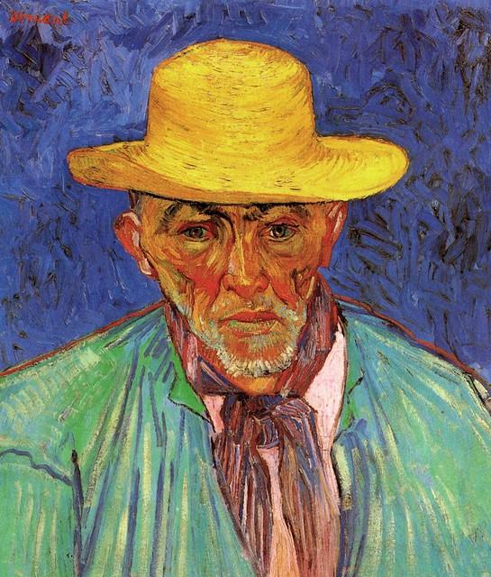 Vincent Van Gogh, Portrait of a Peasant (Patience Escalier), 1888