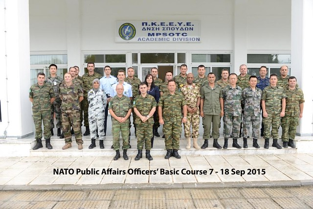 End of the Public Affairs Officers Course 2015 (II)