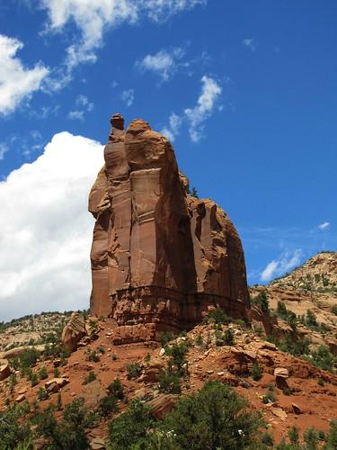 sky clouds rural canyon erosion geology escalantecanyon uncompahgreplateau