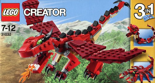 LEGO Creator 31032 Red Creatures box00