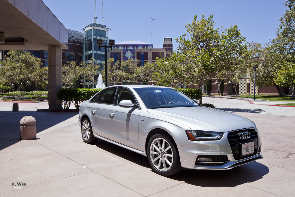Audi A4 at Cerritos
