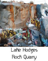 lake hodges rock quarry