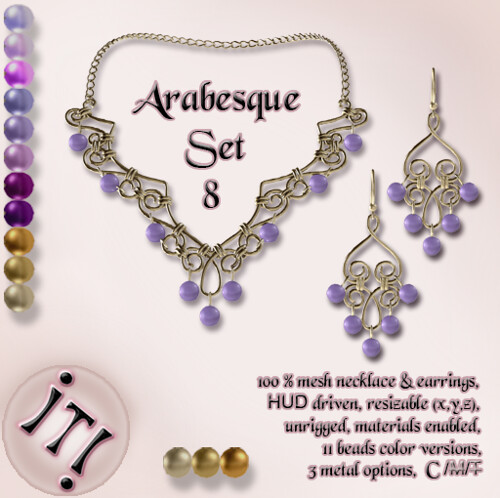 !IT! - Arabesque Set 8 Image