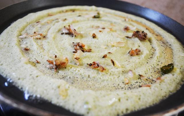 Andhra Pesarattu/ Moong Dhal Dosa Recipe - Step8