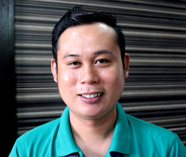 Area co-ordinator Hermy E. Rolete, of the Department of Social Welfare and Development (DSWD)