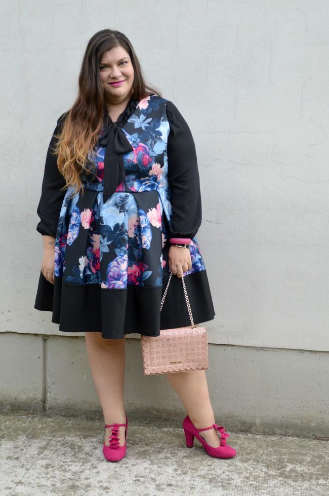 Outfit nero e fiorato (5)