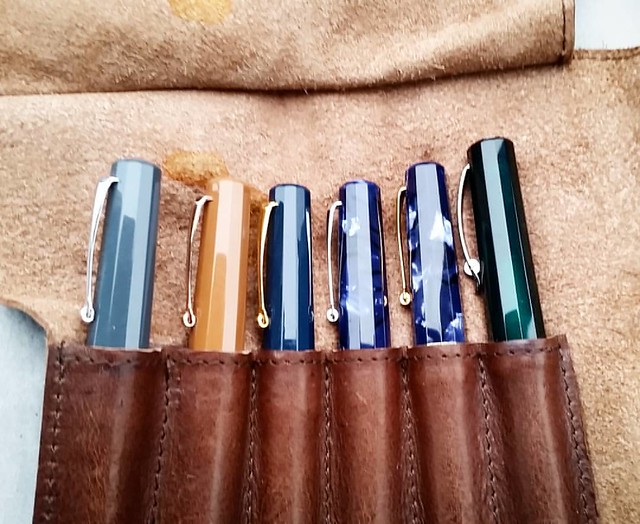I might have developed a brand focus 😍 #omas #omasexperience #Fpgeeks #fpn #fountainpen #fountainpennetwork #funtainpen #papsweden #dailycarry