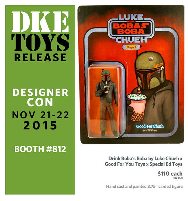 Drink Boba's Boba by Luke Chueh x Good For You Toys x Special Ed Toys