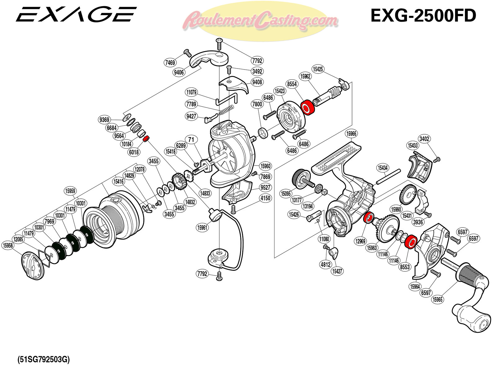 Schema-Shimano-EXAGE-2500FD