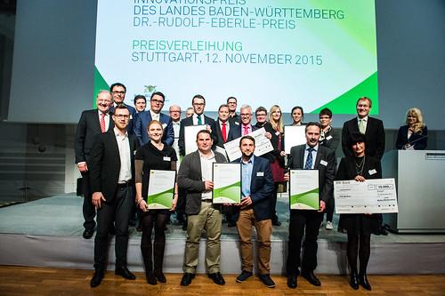 2015: Innovationspreis des Landes Baden-Württemberg 2015