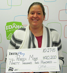 Rebecca Mink - $90,200 Idaho Jackpot