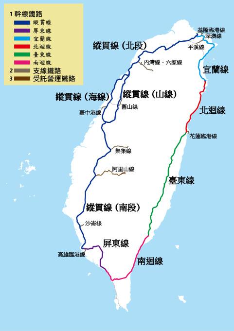 Taiwan's railway system