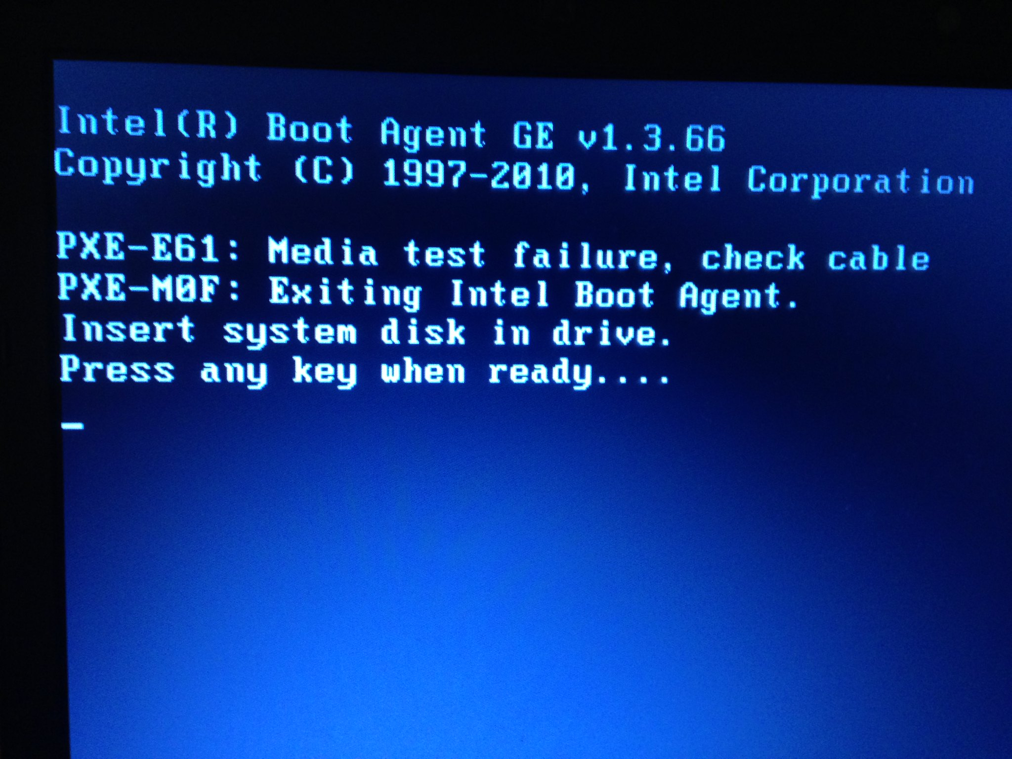 IT help please: Laptop won't boot- is my HDD dead