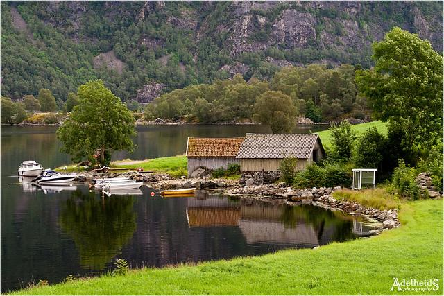 Norwegian boathouse (explored)