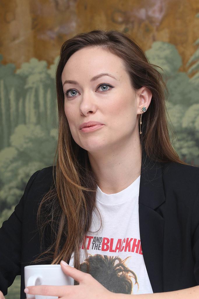 Оливия Уайлд — Пресс-конференция «Винил» 2015 – 16
