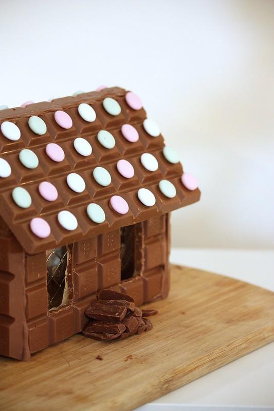 Suklaapiparitalo ohje Kaikki Paketissa