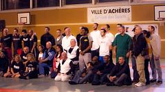 Démonstration de Shorinji Kempo par le club de Jouy le Moutier