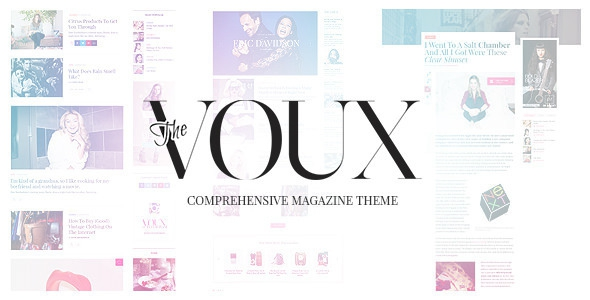 The Voux v3.0.1 – A Comprehensive Magazine Theme