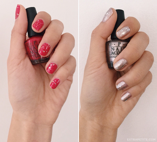 opi holiday all stars nail swatch