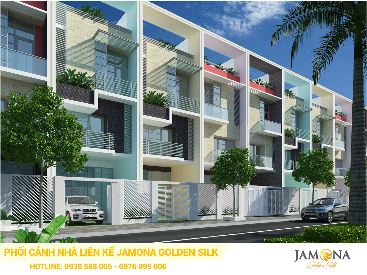 Nhà phố liền kề Jamona Golden Silk