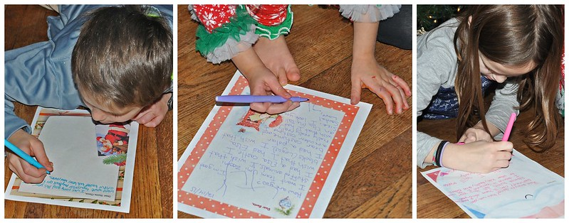 Writing Letters to Santa Tradition