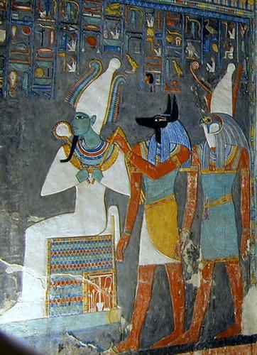 La tombe de Horemheb (KV.57) (Vallée des Rois / Thèbes ouest)