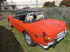 Orange MG Roadster