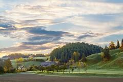 Monday Morning  #emental #switzerland #village #countryside #autumn #sky