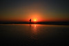 Running on the beach at sunset - Tel-Aviv