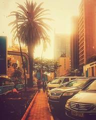 Sunset in ma' City!  #CityOfNairobi #Nairobi #KaribuNairobi #XperiaZ1