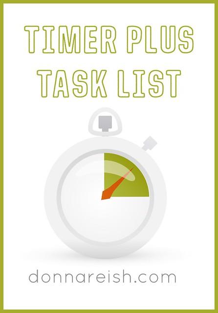 Timer Plus Task List Equal RESULTS