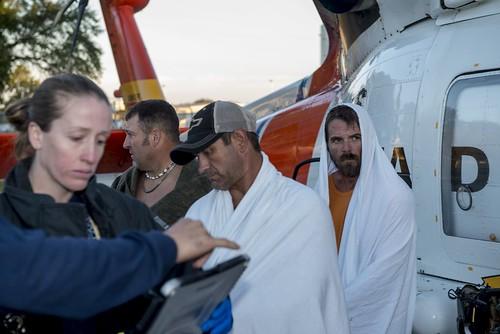 Diver Rescued By Coast Guard Near Hernando Beach Fla