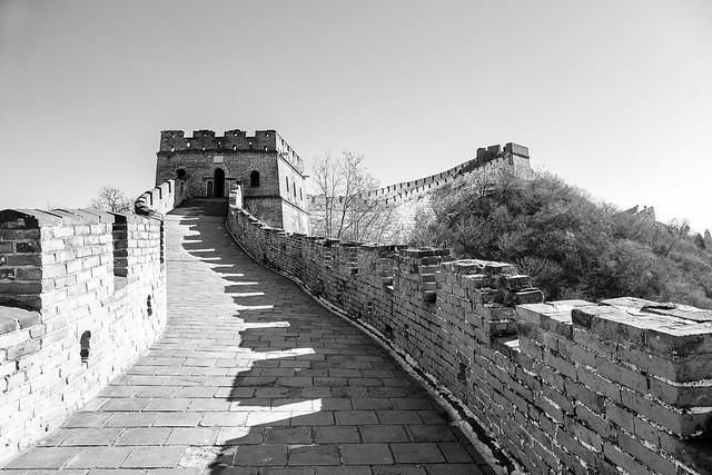 The Great Wall of China. #mutianyu #greatwallofchina #greatwall #asia #travel #travelphotography #landscape #explore #exploretocreate #blackandwhite #travel2china #chinagram #chinatravel #china #beijing #beijinglife #beijinger #chinalife #chinalandscape #