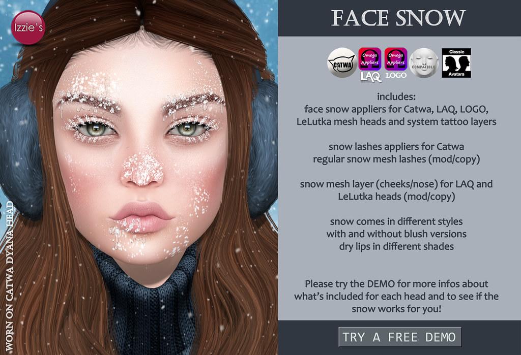 Face Snow (for Tannenbaum) - SecondLifeHub.com