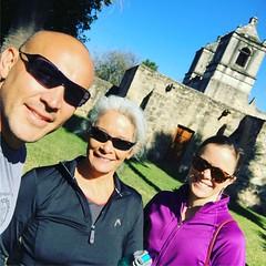 #missionconcepcion #sanantonio with @ladyfaceale #cyrena and @acacia_coast