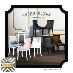{Petite Maison} Gallery Chair @ Cosmopolitan
