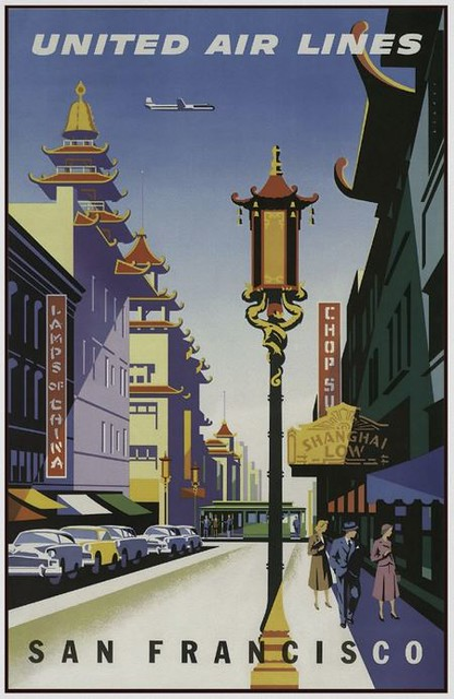 San Francisco ~ Vintage Travel Poster